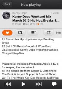 Remember Hip Hop kenny dope